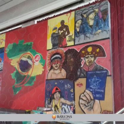 Backdrop em Sarrafo e Lona