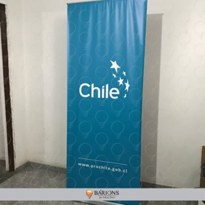 Mecanismo para Banner Roll Up - 0,80x2,00m