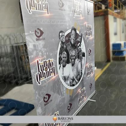Estrutura Banner Roll Up 2x2m Impressão Digital