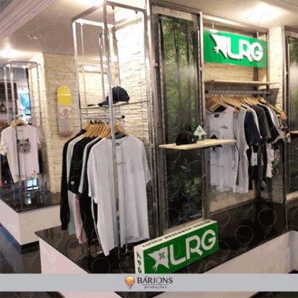 Corner com MDF e Aramado | Corner e In-Store