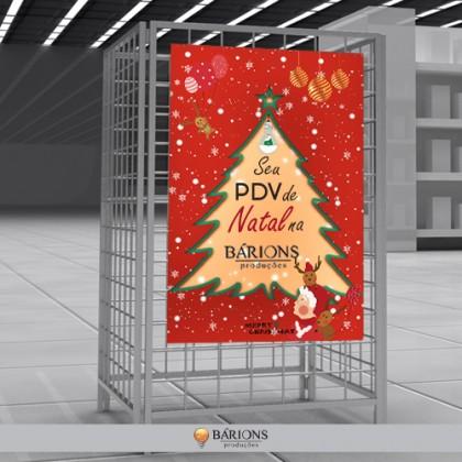 Cesto Aramado Para Produtos Promocionais de Natal