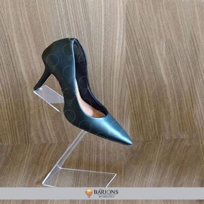 Pedestal em Acrílico para Calçados