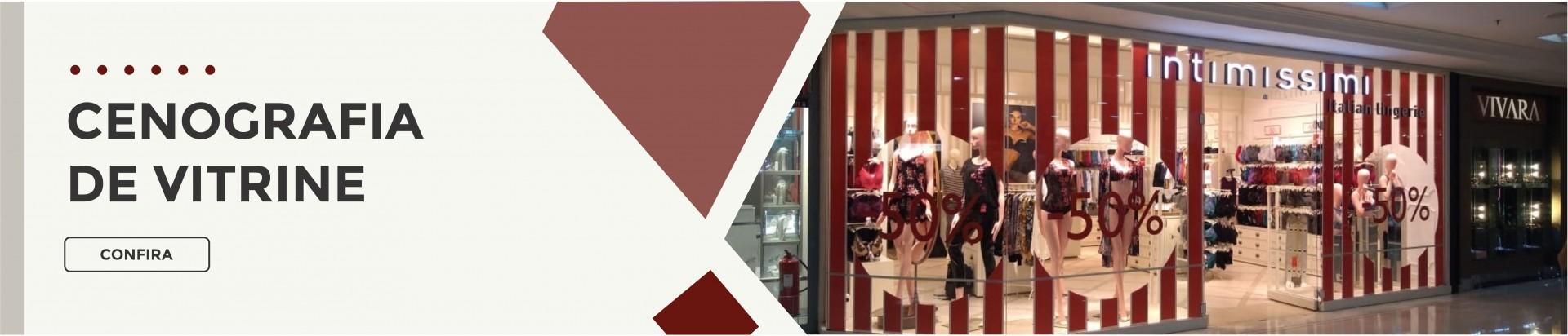 Vitrines e Ambientação para lojas | Bárions Produções