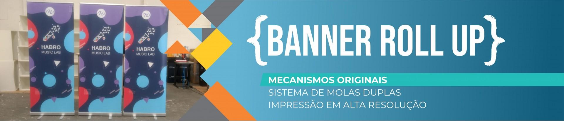 O Melhor Banner Roll Up do Brasil | Bárions Produções