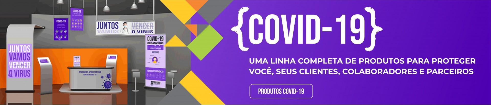 Linha de produtos COVID-19 | Bárions Produções