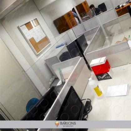 Barreiras de Proteção para Mesa de Escritório