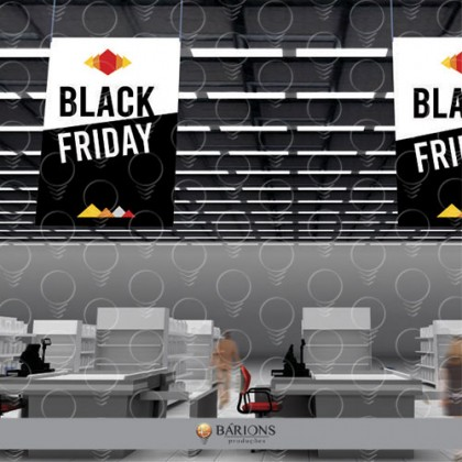 Banner Aéreo | Black Friday - 2020
