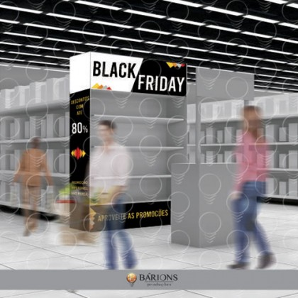 Ponta de Gôndola em PS | Black Friday - 2020