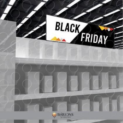 Testeira Topo de Gôndola em PS | Black Friday - 2020