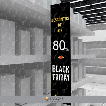 Wobbler Para Merchandising | Black Friday - 2020