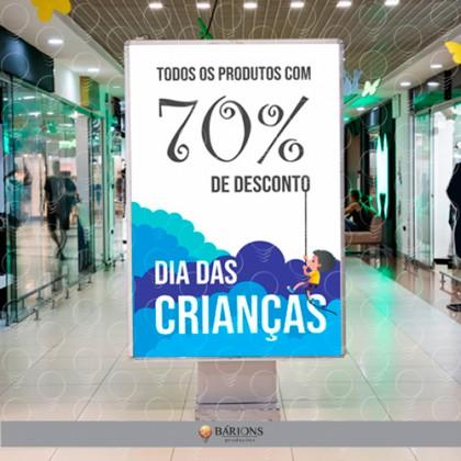 Sinalização de Shopping | Dia das Crianças - 2020