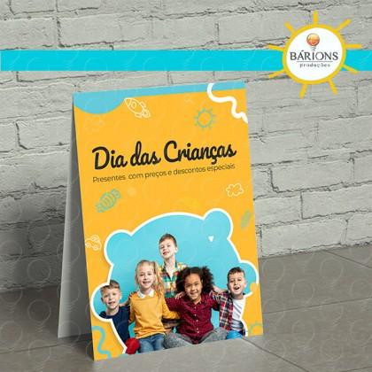 Display de Balcão em PS | Dia das Crianças - 2021