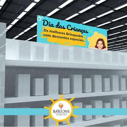 Topo de Gôndola Promocional | Dia das Crianças - 2021