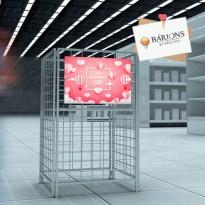 Cesto Aramado para Ação Promocional - Dia dos Namorados 2021