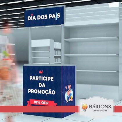 Balcão Expositor | Dia dos Pais - 2021