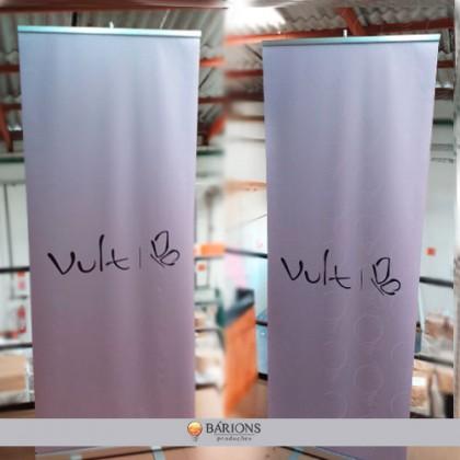 Estrutura para Banner Roll Up em Lona