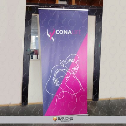 Porta Banner Rollup em Lona