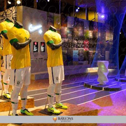 Showroom de Lançamento do Uniforme da Copa do Mundo - Nike