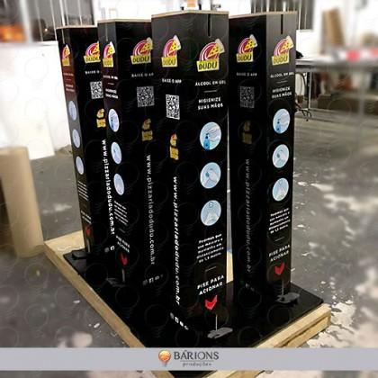 .Torre Antisséptica Personalizada - COVID-19
