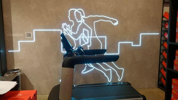 Interatividade com iluminação em LED | Bárions Produções