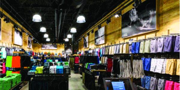 Showroom Produzido e positivado pela Bárions Produções para a marca Hurley