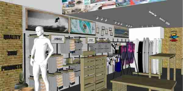Móveis personalizados para lojas e ponto de venda | Bárions Produções