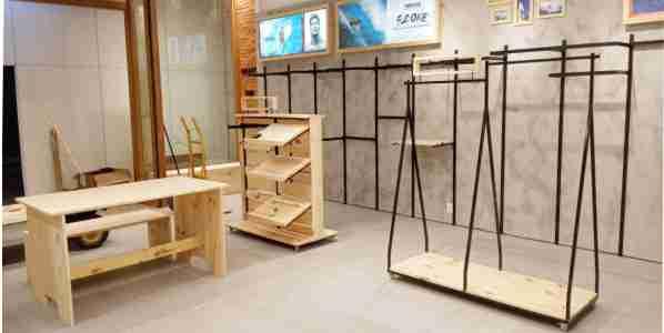 Móveis personalizados para cenografia e ambientação de loja | Bárions Produções