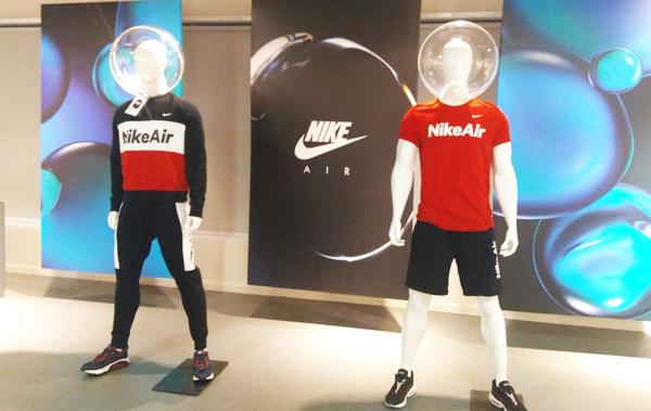 Showroom da Nike, produzido e positivado pela Bárions Produções