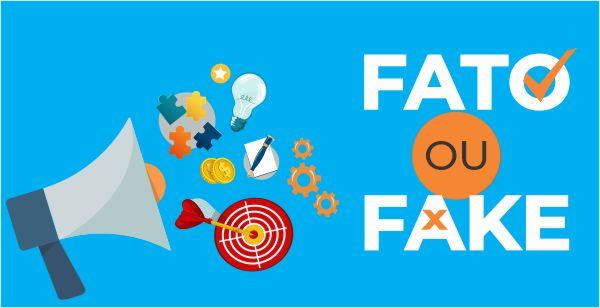 Fato ou Fake na comunicação visual   Bárions Produções