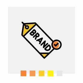 Ícone que ilustra o design do banner rollup | Bárions Produções